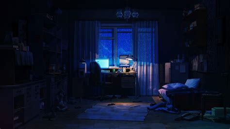 aesthetic anime room hd wallpapers