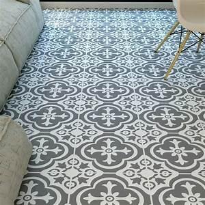 Adhesif Carreau De Ciment : 1001 id es pour d corer l 39 espace avec le sol vinyle ~ Premium-room.com Idées de Décoration