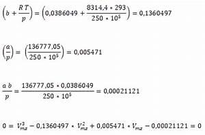 Molvolumen Berechnen : zustandsgleichung des realen gases realgasfaktor kompressionsfaktor ~ Themetempest.com Abrechnung