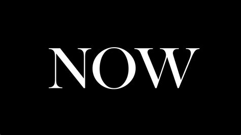 I Challenge You To Live In The Now For 30 Days