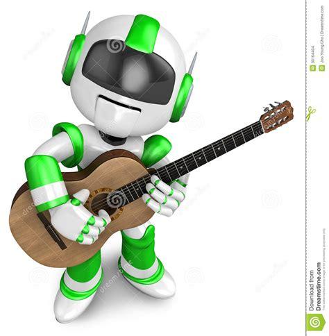 cr馥r sa chambre 3d de groene heeft de klassieke gitaar gespeeld cre 235 r