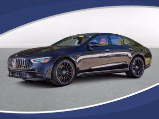 It's been available overseas since 2018, but it's never been sold in america before. New 2021 Mercedes-AMG® GT GT 53 4-Door Coupe North Carolina W1K7X6BB5MA037157