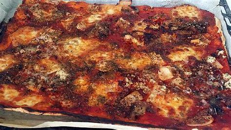 recette de cuisine familiale recette de pizza familiale par notre amour de cuisine