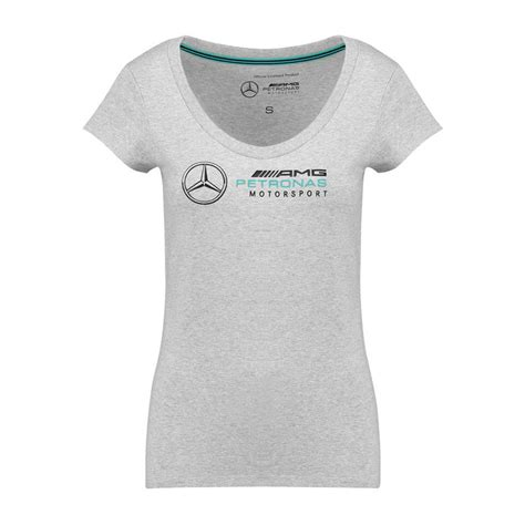 Unfollow mercedes f1 t shirt to stop getting updates on your ebay feed. 2018 Mercedes Germany AMG Petronas F1 Team Ladies Logo T-shirt Grey | Clothing \ T-shirts Shop ...