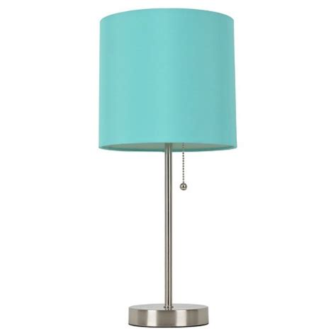 Teal And White Bedrooms by Room Essentials Stick Lamp Target