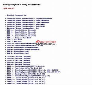 Mazda 3 2014 Workshop  U0026repair Service Manual