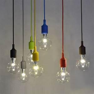 Lampe Suspendue Cuisine : couleur silicone luminaire suspension style europ en ~ Edinachiropracticcenter.com Idées de Décoration