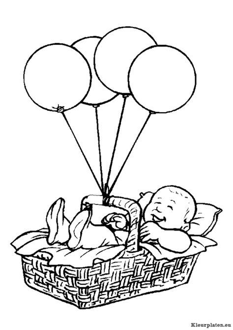 Kleurplaat Baby In Wieg by Baby Kleurplaten Kleurplaten Eu