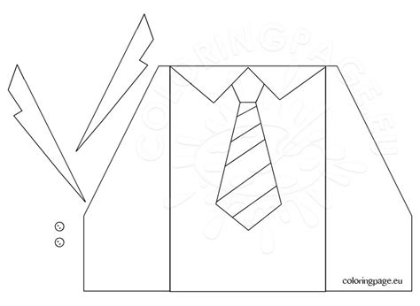jacket card template coloring page