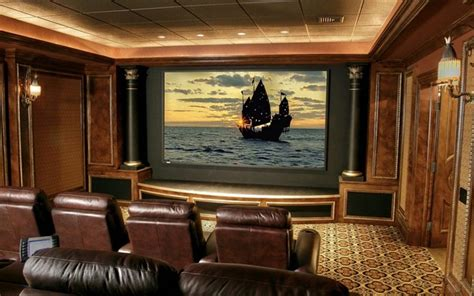 Home Theater Design And Ideas by Home Theater Designs Bring Extravagance To Your Home With