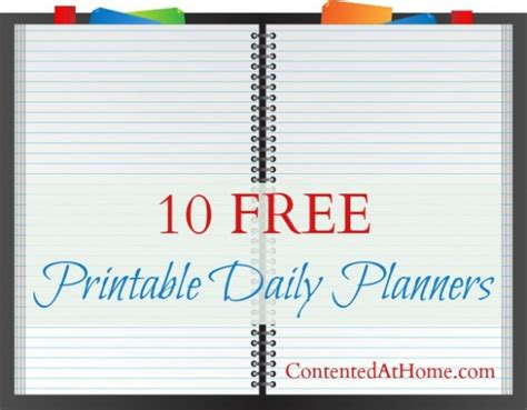 printable daily planners  homeschool deals