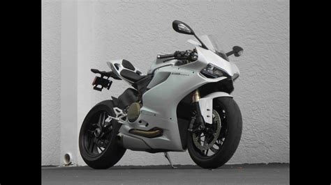Ducati Panigale White by 2013 Ducati 1199 Abs Panigale Demo Arctic White Ride