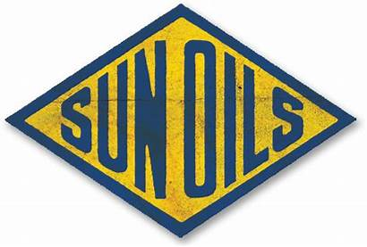 Oil Sunoco Sun Company Sign History Petroleum