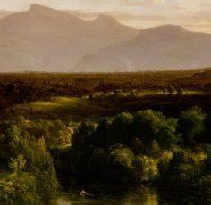 Thomas Cole—Castle and River (Hudson River School ...