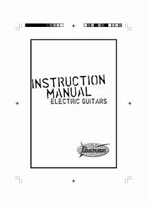 Download Free Pdf For Ibanez Rg Fixed Series Rg321mh Guitar Manual