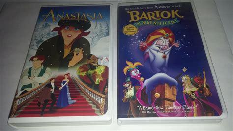 20th Century Fox Anastasia & Bartok Bat Vhs Animated