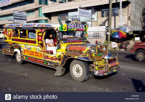 philippines jeepney vector philippines cebu jeepney at gaisano mall stock photo