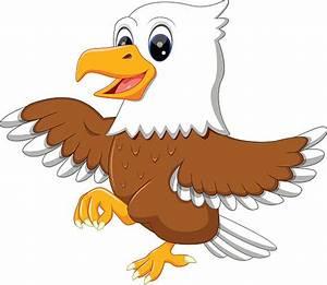 Royalty Free Cartoon Of Cute Eagle Clip Art, Vector Images ...