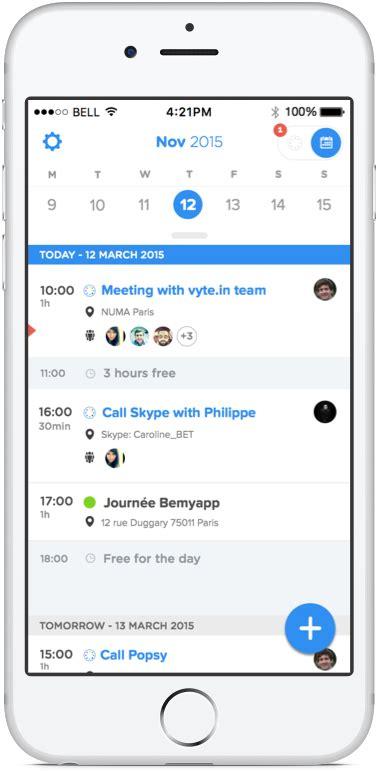 best iphone calendar app vyte the best iphone calendar app for scheduling Best