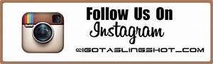 follow us on instagram igotaslingshot With follow us on instagram template