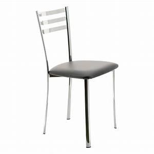 Trouver chaise de cuisine couleur gris for Deco cuisine avec chaise cuisine grise
