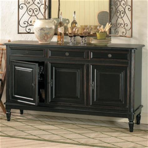 Traditional Sideboards And Buffets by Dehaviland 3 Drawer Console Traditional Buffets And