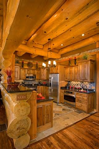 kitchen cabinets rhode island highlands log structures log homes interior gallery