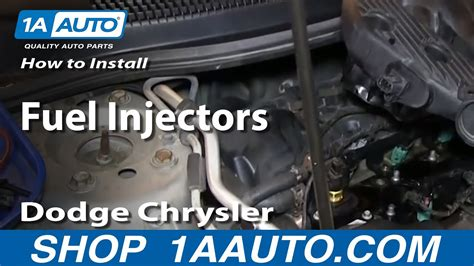 Fuel Filter 2009 Dodge Charger by How To Install Replace Fuel Injectors 2 7l Dodge Chrysler