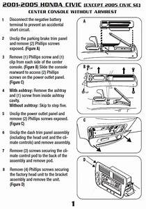 2002 Honda Civic Installation Parts  Harness  Wires  Kits