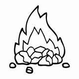 Coal Drawing Cartoon Burning Coals Clipartmag Vectors Shutterstock Edit sketch template