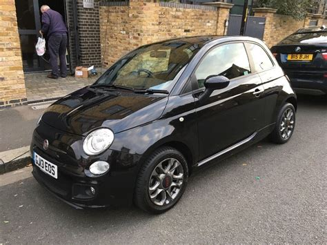 Fiat 500 Black by Fiat 500 Sport Black Great Condition In South East