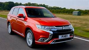 2019 Mitsubishi Outlander PHEV | Orient Red | Driving ...  Red