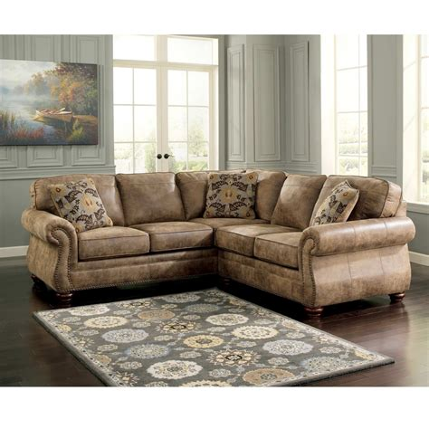 signature design by ashley larkinhurst 2 pc sectional raf