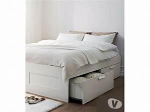 Lit Ikea Avec Tiroir : lit ikea brimnes offres mai clasf ~ Mglfilm.com Idées de Décoration