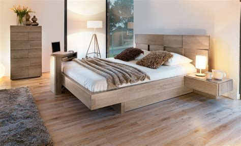 chambre gauthier mervent smoked oak modern bedroom toronto by