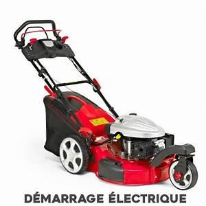 Tondeuse Thermique Démarrage électrique : tondeuse thermique 3 roues moteur essence 173 cc d marrage ~ Dailycaller-alerts.com Idées de Décoration