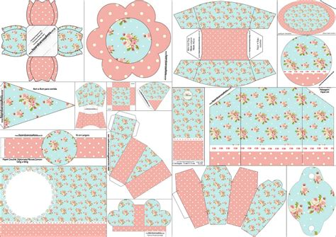 shabby chic images free kit para quince a 241 os con dise 241 o shabby chic en rosa y celeste para imprimir gratis oh my 15 a 241 os