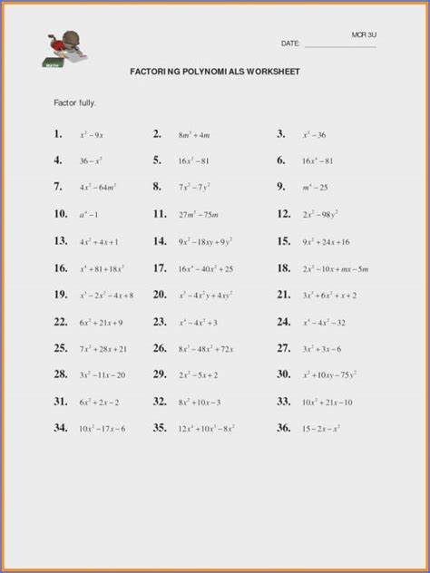 multiplying monomials worksheet mychaume