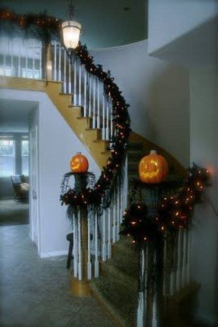 cozy fall staircase decor ideas digsdigs
