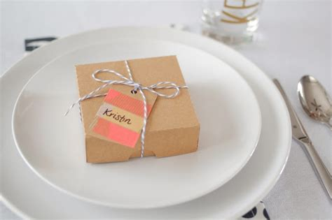 Virginia And Charlie Dinner Party Favors