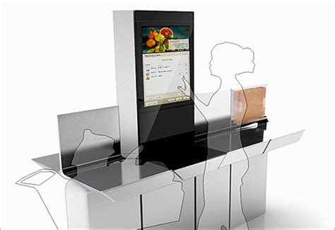intel introduces  service kiosk  grocery stores