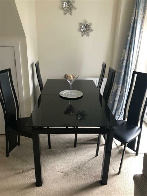 meja makan minimalis model modern kayu jati kaca
