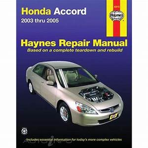 Haynes Repair Manual - Honda Accord 2003
