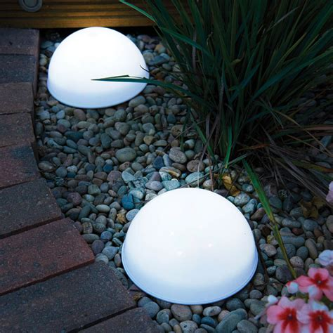 led dome solar lights 2 view all outdoor living