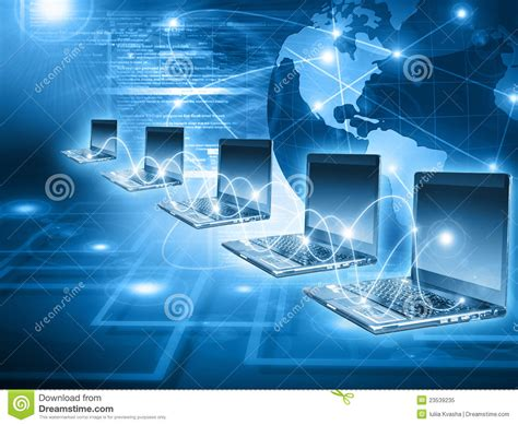 worldwide computer connectivity royalty  stock photo