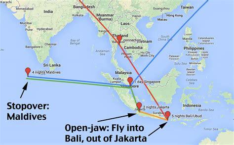 honeymoon trip bali jakarta singapore