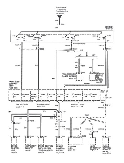 repair guides power distribution 2000 power distribution wiring diagram page 10 thru 10