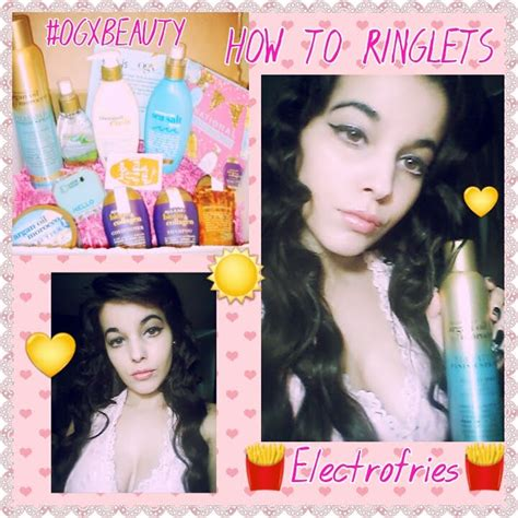 These curlers gave non frizzy, defined curls that lasted days. How to do Spiral Curls Ringlets OGXBEAUTY - YouTube