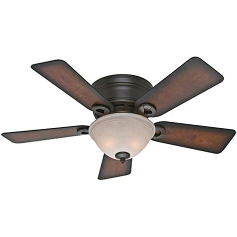 hugger ceiling fans with lights