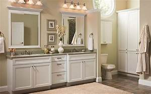 country style bathroom cabinets double sink with framed With kitchen cabinets lowes with his and hers wall art